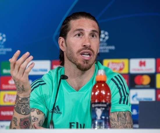 Ramos ricorda la vittoria della Champions. EFE