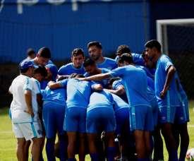 La Selección de Guatemala piensa en el choque amistoso ante Panamá. EFE
