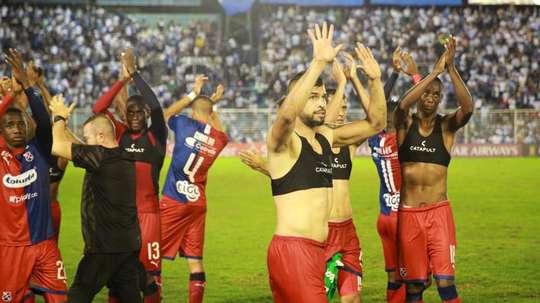 Matías Mier metió en la final de la Copa Colombia a Independiente Medellín. EFE