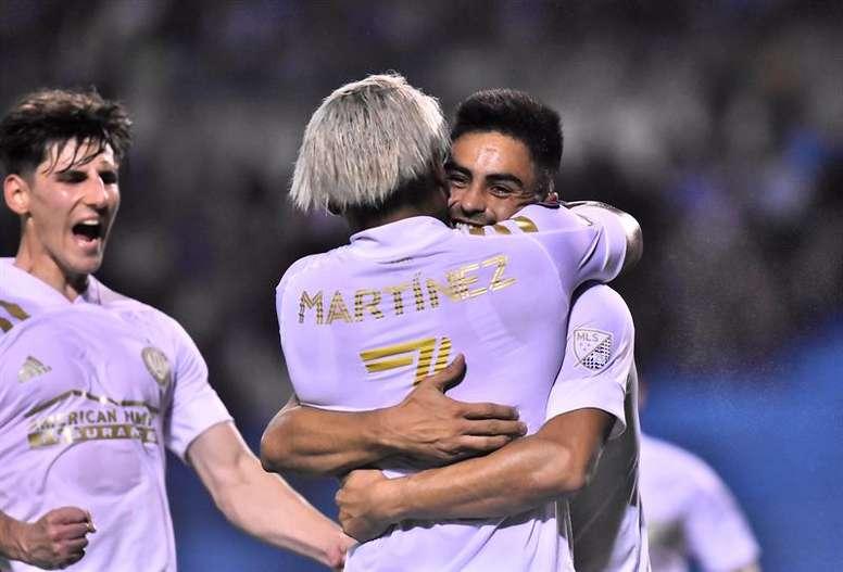 El dúo de oro de Atlanta quiere esta 'Concachampions'. EFE/José Valle/Archivo