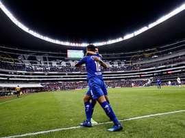 Cruz Azul le da un repaso a Portmore United. EFE