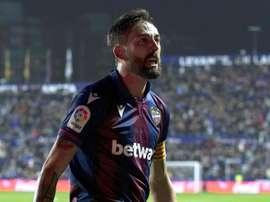 Morales le ha hecho cinco goles al Eibar. EFE