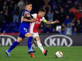 El Getafe publicó su lista para el choque ante el Ajax. EFE