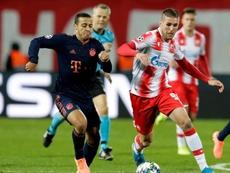 Thiago defendió a Kepa, que vive una situación difícil en el Chelsea. EFE