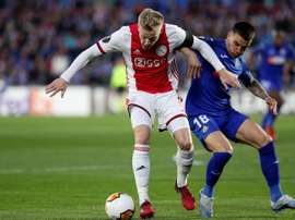 Van de Beek can forget about Madrid. EFE