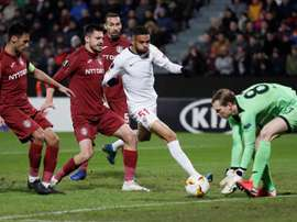 El Sevilla recibe al Cluj. EFE