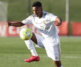 O aviso de Modric quando Rodrygo chegou no Real Madrid. EFE/Santiago Arenas García