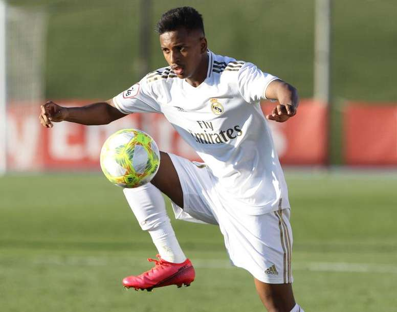 Rodrygo will not play the 'Clasico'. EFE