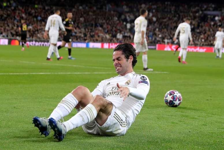 O Real Madrid correu seis quilômetros menos que o City. EFE