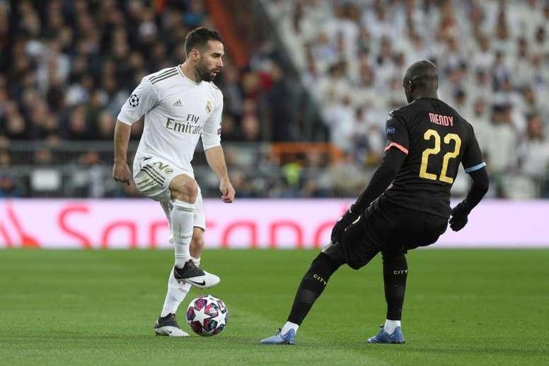 El Madrid estrenará la segunda equipación en Champions. EFE