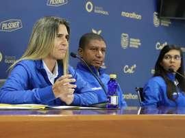 Emily Lima analizó el encuentro que disputará ante Argentina. EFE/FEF