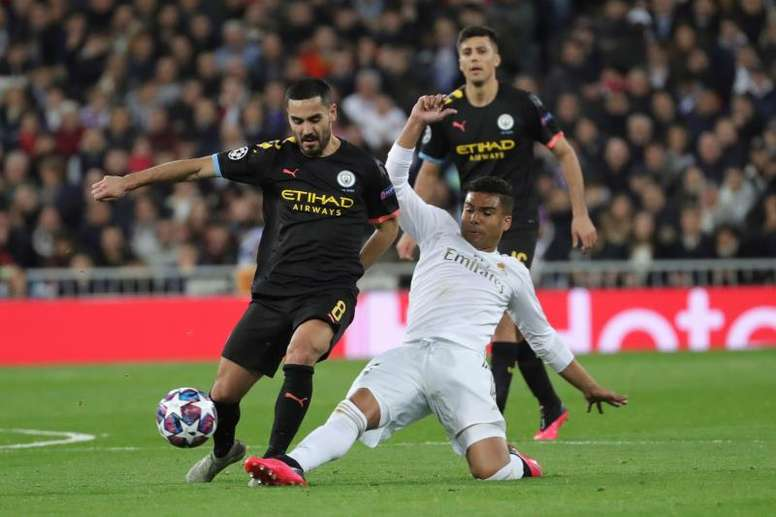 Real Madrid will know when and where they will play Man City on Thursday. EFE