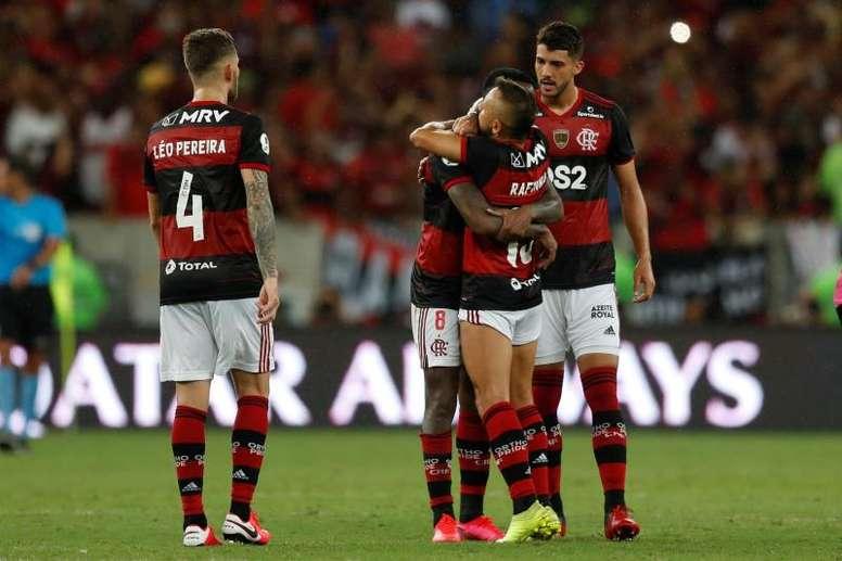 Junior - Flamengo: onzes iniciais confirmados. EFE