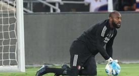 Vermeer calentó el Los Angeles FC-León. EFE