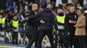 Guardiola a donné son avis sur le résultat du tirage au sort. EFE