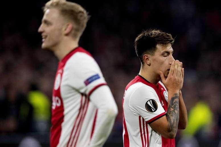 L'Ajax se fait sortir par Getafe. EFE