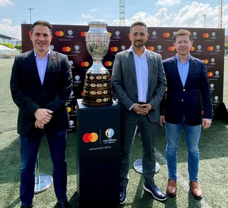 Mastercard renueva patrocinio de la Copa América e incluye el torneo femenino. EFE