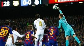 Ter Stegen spoke on Barcelona's chances. EFE