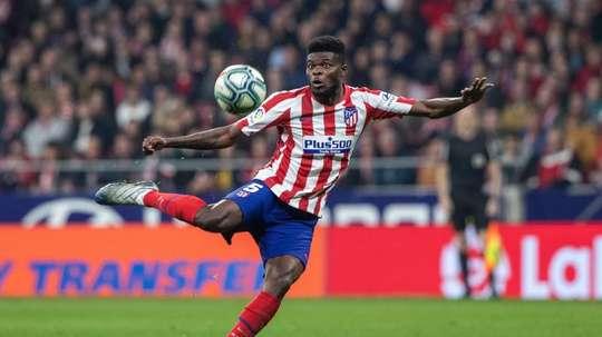 O Arsenal oferece a Thomas o triplo do que ganha no Atlético. EFE