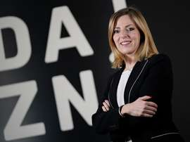 Verónica Diquattro, responsable de DAZN para el sur de Europa. EFE/Imagen cedida por DAZN
