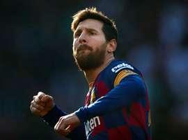 Messi superará Xavi. EFE/Alejandro García