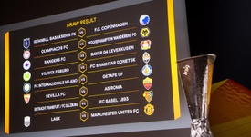Estos son los cruces en los octavos de la Europa League 2019-20. EFE