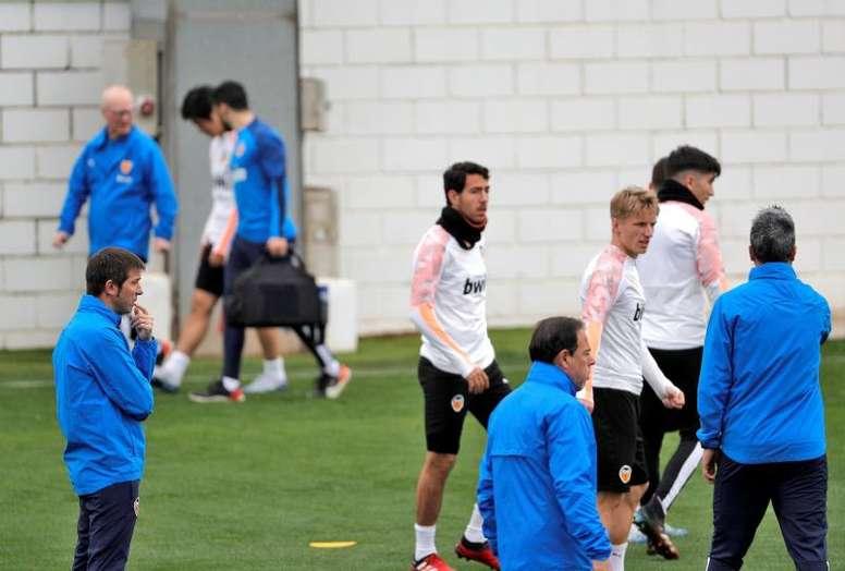 Celades cuenta con tres novedades en su convocatoria. EFE/Manuel Bruque