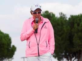 La presidenta del circuito europeo femenino de golf, Marta Figueras-Dotti. EFE/ Javier Liaño/Archivo