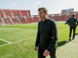 Garitano vuelve a Butarque, estadio que un día fue su hogar. EFE