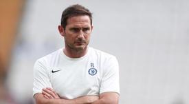 Comment Lampard a travaillé sur la reprise pendant le confinement. EFE