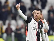 CR7 tiene claro que la Juventus estará en los cuartos de final de la Champions. EFE