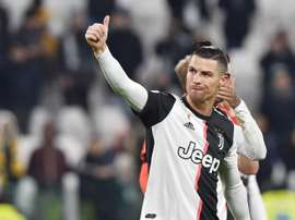 Ronaldo is sure that Juventus will go through. EFE
