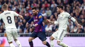 Messi et Ramos, icônes et rivaux. EFE