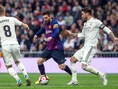 Messi y Ramos, iconos y rivales. EFE/Archivo