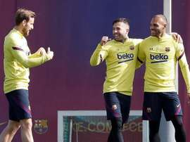 Four Barca players will likely leave the club. EFE
