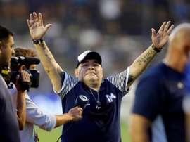 Gimnasia y Maradona se aferran al milagro. EFE