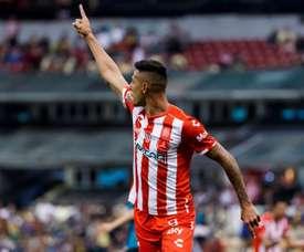 Quiroga quiere triunfar con Atlético San Luis. EFE/José Méndez