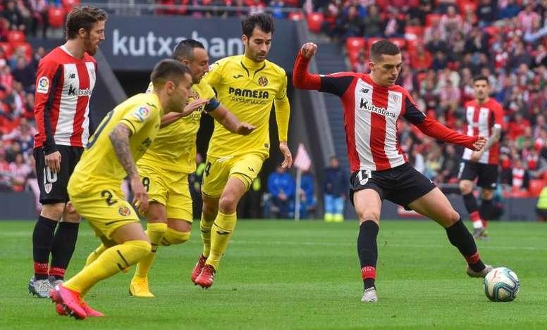 Íñigo Córdoba marcó para el Athletic Club frente al Valladolid. EFE