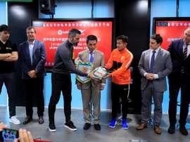 El Wuhan Zall verá el 'Clásico'. EFE