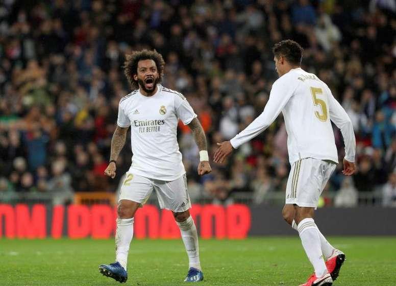 A oportunidade de Marcelo pode chegar na Supercopa da Espanha. EFE/Rodrigo Jiménez