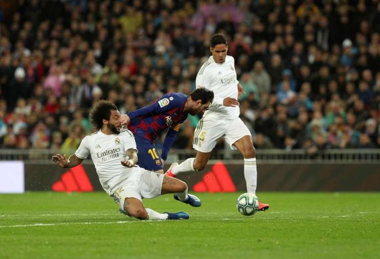 There are many different ways to bet on a sports event like 'El Clasico'. EFE