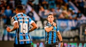 Grêmio confirma dois casos positivos para o COVID-19. EFE/Silvio Ávila