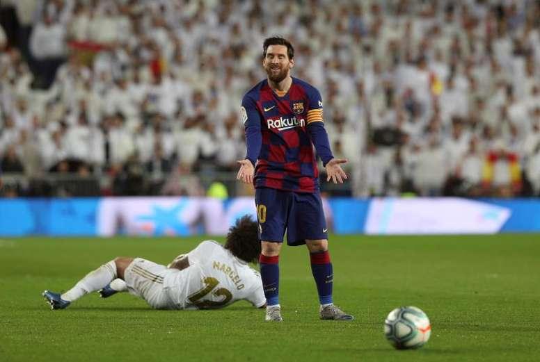 La eterna comparación entre Messi y Maradona. EFE/Archivo