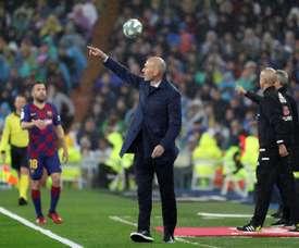 Le PSG veut tenter l'incroyable coup Zinédine Zidane. EFE