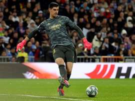 Courtois, a doubt to face Manchester City for UCL second leg. EFE
