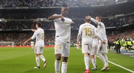 The best of Vinicius with Real Madrid. EFE