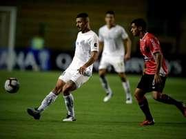 Santos no lo tendrá fácil en su estreno en la Libertadores. EFE