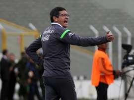 The Strongest anunció la destitución de Mauricio Soria. EFE