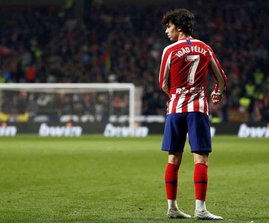 Gelson Martins évoque son passage à l'Atletico. EFE