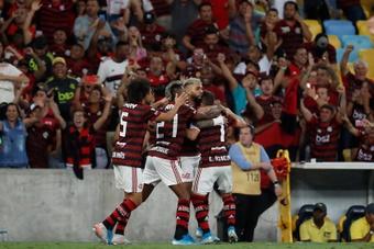 Flamengo llega en racha al debut ante Junior. EFE
